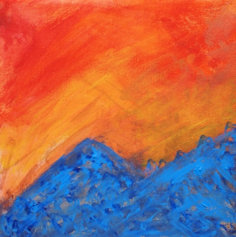 Dorothys abstract mountain